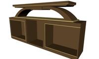 3d model of cabinet unit