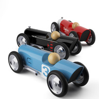 3d model mini toy cars thunder