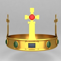 crown king ornaments 4