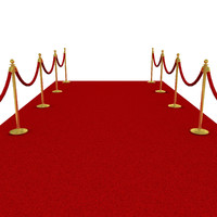 c4d red carpet