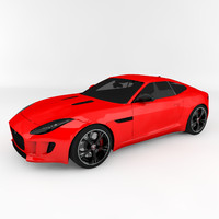 3d 2015 f-type r coupe