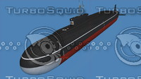 submarine borei project 955 3ds