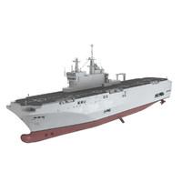 mistral amphibious assault 3d max