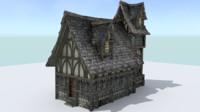 maya house medieval town