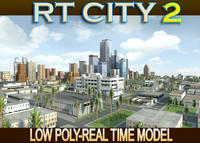 3d city street los angeles