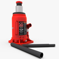 3d 3ds hydraulic bottle jack