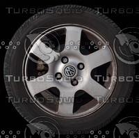 Wheel texture