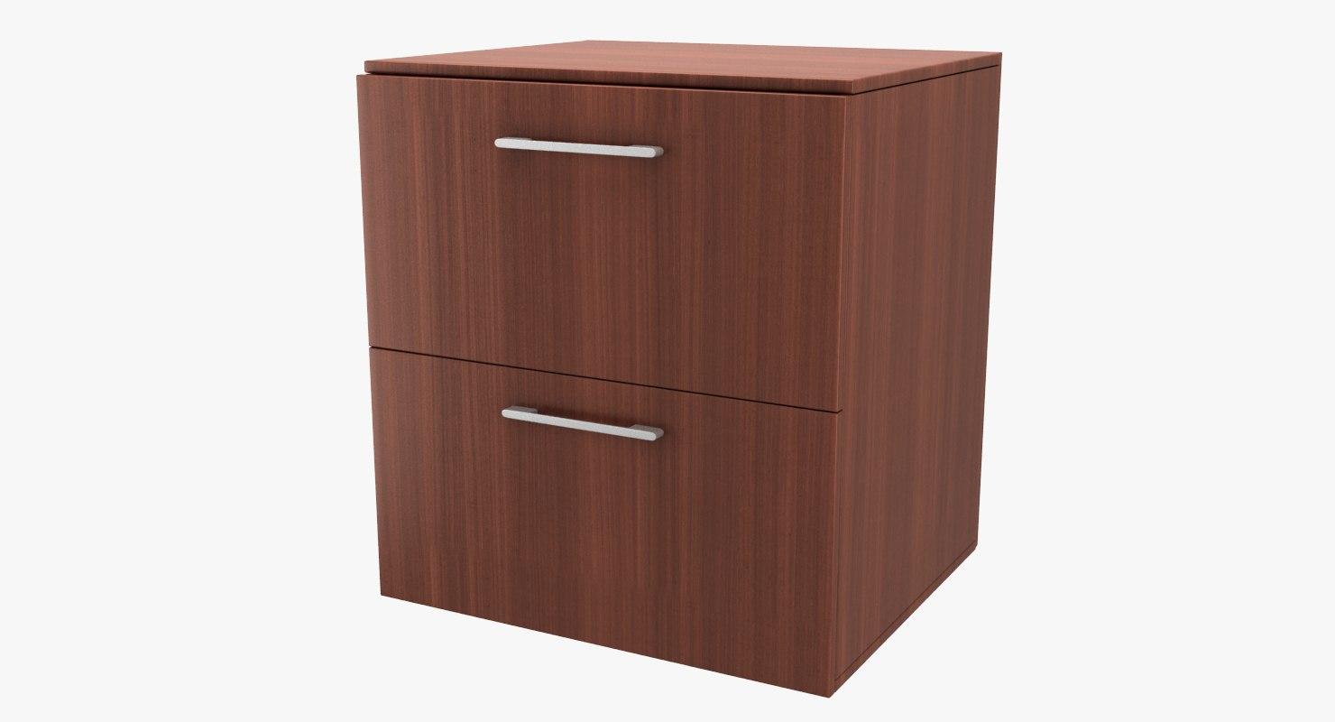 ikea godmorgon sink cabinet 3d 3ds. Black Bedroom Furniture Sets. Home Design Ideas