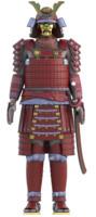 3ds japanese samurai armor