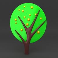lego tree 3d max