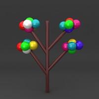 lego tree fbx