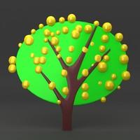 3dsmax lego tree