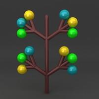maya lego tree