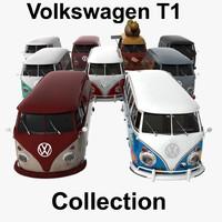transporter t1 van 3d 3ds