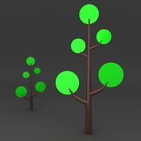 3d lego tree