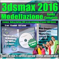 3ds max 2016 Modellazione Guida Completa 6 Mesi Subscription