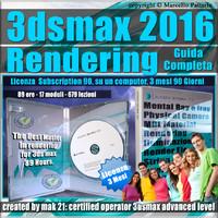 3ds max 2016 Rendering Guida Completa 3 Mesi