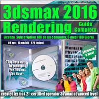 3ds max 2016 Rendering Guida Completa 6 Mesi