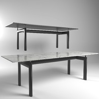 le table cassina 3d max