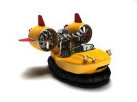 hovercraft 3d max