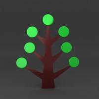 3ds max lego tree