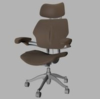 swivel chair 3ds