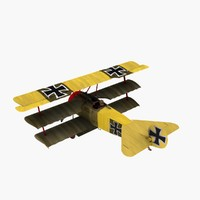 Fokker Dr1 in Lothar von Richthofens Markings