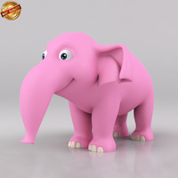 maya cartoon baby elephant