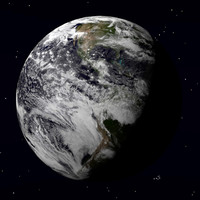 3d model earth advanced render