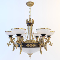chandelier classic 3d max