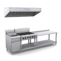 commercial kitchen pack 3d max