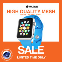 3d model sale! limited apple watch