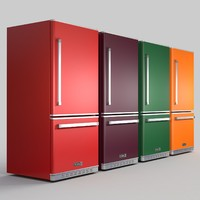 3d c4d big chill fridge