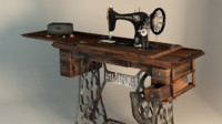 3ds sewing machine old