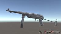 3d model mp 40