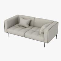 3d max rod sofa