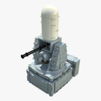 3d phalanx ciws block-0 model