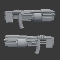 rifle gun concept blend