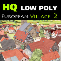 framework village european 3d 3ds