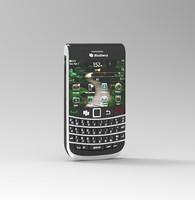 3d blackberry model
