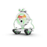 funny robotic character 3d max