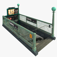 3ds new york subway entrance