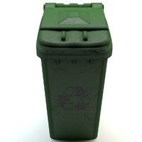 3ds max trash container
