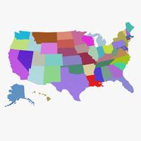 3d model united states
