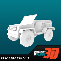 car low poly 3