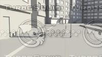 street novel 3d model