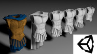 armor 3d model