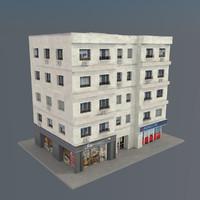 building v01 3d model
