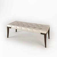 baker adam bench 3d model