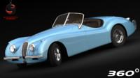 xk120 1955 3d max